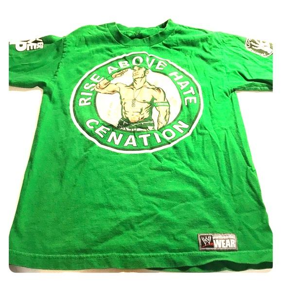 6ecf25c466b7b0 WWE Shirts & Tops | John Cena Tshirt Size Boys Small U Cant C Me ...
